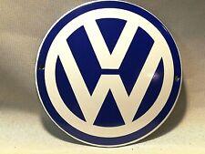 VW , Emailleschild,Türschild,Werkstatt ,Reklame /Auto / Sign / Enamel ,Garage