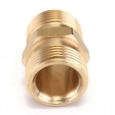 Washer Hose Outlet Adaptor Brass New M22 14mm to Power Pressure Tool Golden YA9C