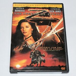 The Legend of Zorro Antonio Banderas Catherine Zeta-Jones Widescreen DVD
