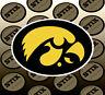 Iowa Hawkeyes Logo NCAA Die Cut Vinyl Sticker Car Window Bumper Decal