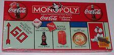 Coca-Cola Monopoly Board Game Nib Sealed Collector's Edition