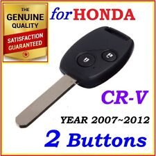 For Honda CRV Remote Key - 2 Buttons - Year 2007 - 2012