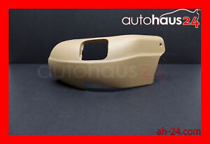 MERCEDES BENZ W220 S CLASS S600 S430 00-02 DRIVER SEAT LEFT TRIM COVER JAVA OEM