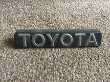 Toyota Corolla AE92 GTI Front Grille Badge Pre Facelift USED not AE86 AE82 AW11