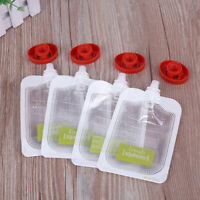 10/20/50PC Baby Food Maker Baby Food Storage Baby Food Pouches Extrusion pouche