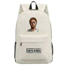 Game Days Gone Canvas Laptop Backpack Schoolbag for Boys Girls Travel Bags