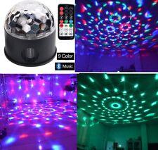 Wonsung Bluetooth +Speaker Party Light Disco Lights 9 Colors 9W Magic Ball light