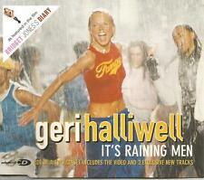 Spice Girls GERI HALLIWELL It's Raining men w/ 2 UNRELEASED & VIDEO CD single