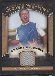 2014 UD GOODWIN CHAMPIONS GRAEME MCDOWELL JERSEY #M-GM