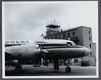 ALLEGHENY CONVAIR CV-440 HARTFORD BRADLEY CT AIRPORT LARGE VINTAGE AIRLINE PHOTO