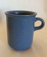 "Dansk Mesa Sky Blue Coffee Mug Cup Small Handle 4"" x 3.5"" Made in Japan EUC"