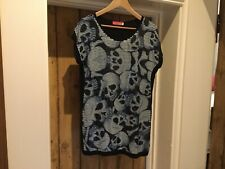 Butler And Wilson Skull Sequined Top M