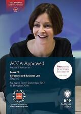 ACCA F4 Corporate and Business Law (English): Practice and Revision Kit by BPP L