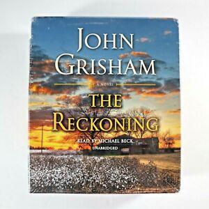 John Grisham- The Reckoning: NEW SEALED  2018,Audio CD, Unabridged