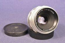 Carl Zeiss Jena 1Q Tessar 2,8/50 Red T Objektiv Lens