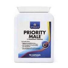 PRIORITY MALE SUPPLEMENT FOR MEN Magnesium Arginine Maca Zinc Garlic Ginseng