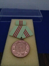 EAST GERMANY  DDR    MDI Medal w/ribbon Long Service  5 YEARS