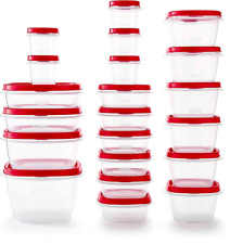 Rubbermaid TakeAlongs Assorted Plastic Food Storage Containers $6.04