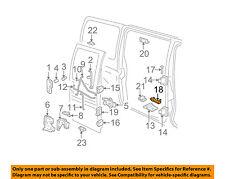 GM OEM Side Sliding Door-Check Strap 15750877