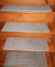 "13 = STEP 10"" X 29"" Stair Treads Staircase WOVEN Nylon Little Shaggy CARPET."