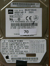 20 Go toshiba mk2018gas hdd2168 p ze01/pcb: g5b000043 - 2,5 pouces disque dur