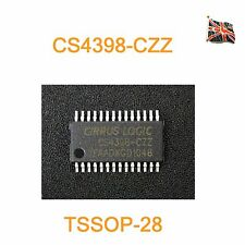 CS4398-CZZ DAC IC TSSOP28  CRYSTAL / CIRRUS CS4398-CZZR UK Stock