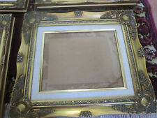 """1 Baroque Matted Wall Gold Wood Picture Frame 8""""x10"""" or 10""""x12"""""""