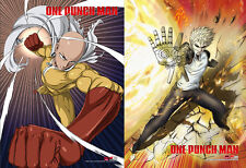 One Punch Man Saitama High-End & Genos Wall Scroll