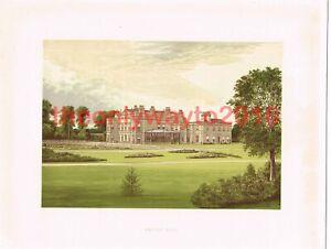 Dalton Hall, Nr Beverley, Yorkshire, England, Book Illustration, c1880