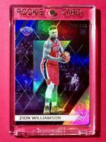 Zion Williamson ROOKIE PANINI CHRONICLES RECON HOLOFOIL FINISH PELICANS RC Mint!