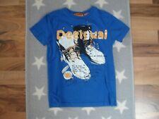 T- Shirt Desigual blau Junge Gr.: 110 116 edel Jungen Kurzarm TOP