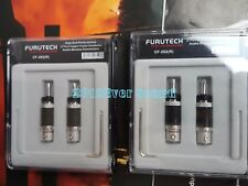 4x Furutech CF-202(R) Rhodium Speaker Cable Carbon Fiber Banana Connector