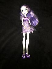 Monster High SPECTRA Vondergeist Ghost Ghoul DEAD TIRED Doll Shoes Dress USED