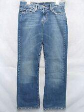 A5104 Lucky Brand Cool Factory Fade USA Made Jeans Women 4/27