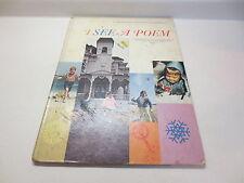 Whitman Giant Tell-a-Tale Book I See a Poem by Jane Ellen Dwyer vintage hardback