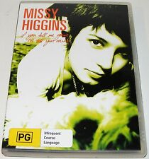 Missy Higgins - If You Tell Me Yours, I'll Tell You Mine ---(DVD, 2005)