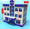 1:87 HO Scale Outland Police Office Staion Government Building Morden Model