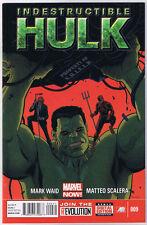 Indestructible Hulk #9 (NM)`13 Waid/ Scalera