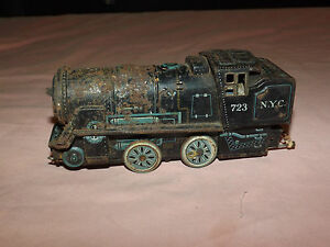 VINTAGE TRAIN ALPS COAL BOX LOCOMOTIVE RAILROAD TRAIN