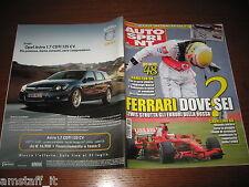 AUTOSPRINT 2008/28=GP F1 GRAN BRETAGNA=HAMILTON=RALLY RUSSIA/CASENTINO=