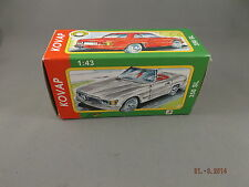 Tin Toy Car - Mercedes 350 SL Coupe Red KOVAP