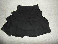 Taille 8 ans magnifique jupe à volants noire LA REDOUTE  EXCELLENT ETAT