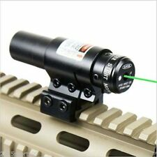 Mounting Crossbow Green Dot Laser Sight w/Scope Mount Bow/Gun Rilfe Scope *