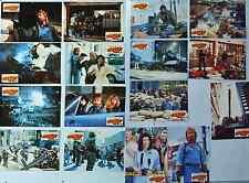 Chuck Norris INVASION USA Aushangfotos, German Lobby Cards, complete Set
