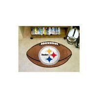 "FanMats Pittsburgh Steelers Football Rug 22""x35"", 5828"
