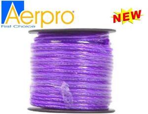 Aerpro 20GA Speaker Cable 39M Purple Cable Roll APW940PU- NEW
