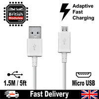 Fast Charge Micro USB Data Sync Phone Charger Cable for Charging Android 1.5M