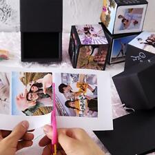 Love Surprise Explosion Burst Bouncing Black Box Birthday Photo Album Gift Box