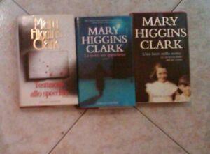 LOTTO DI 3 LIBRI DI MARY HIGGINS CLARK , ORIGINALI