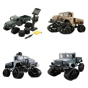 RC Car High Speed Tracked 2.4GHz Snow Truck With WiFi HD Camera FPV Real-Time